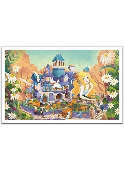Educa Pintoo 1000 Parça Puzzle Alice Harikalar Diyarında - Beya Renkli